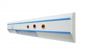 Modular Horizontal Bed Head Unit For Hospital Room