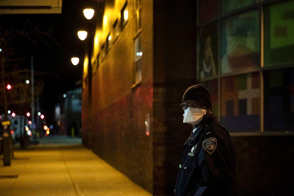 Coronavirus Takes Toll on U.S. Police Departments