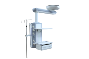 medical gas system ceiling mounted bridge medical pendant