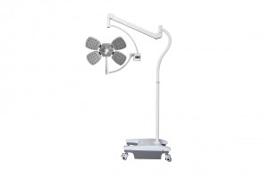 Hospital operation medical Surgical light mobile stand LED examination lamp