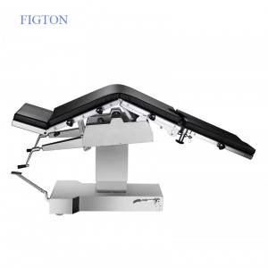 Multifunction electrical surgical operating table use with anesthesia machine