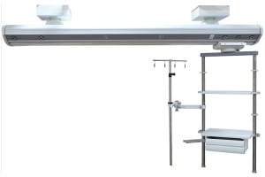 IOS Certificate Ag-18c-22 Fixed Rotary Hospital Surgical Ot Medical Unit Icu Ceiling Pendant System