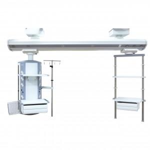 TUV Simple ICU Medical Pendant Bridge Simple & Economic Ceiling Mounted ICU Pendant Dry-Wet Apart Design