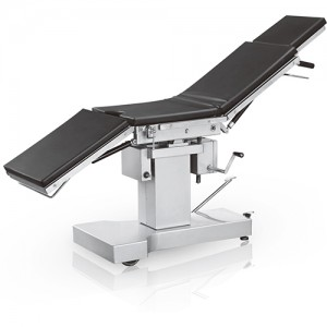 India Exported Medical Manual Hydraulic Operating Table