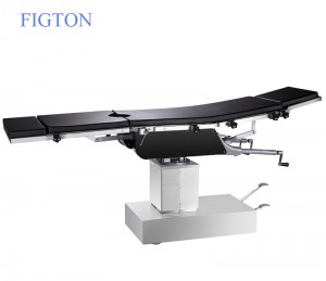 Hydraulic Stainless Operating Room Operation Table