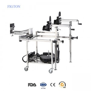 Hospital Orthopaedics Traction Bed