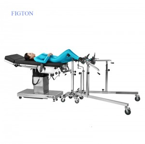 Physical Therapy Equipments Orthopedic Traction Frame Operating Table Accessories